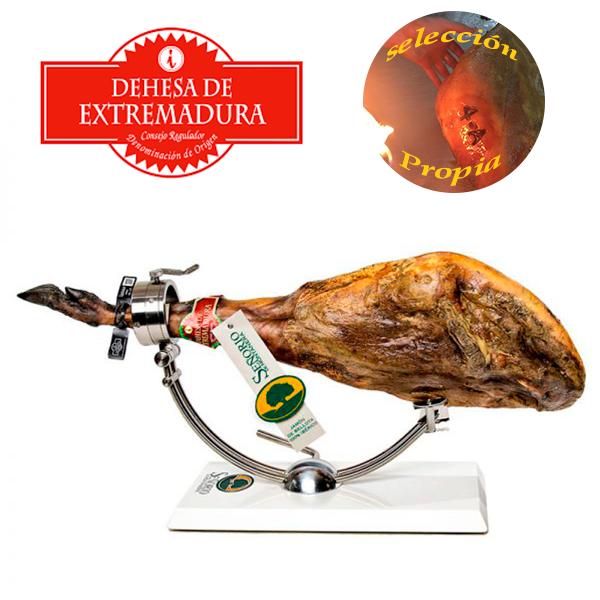 jamon 100 x 100 iberico de bellota señorio montanera DO EXTREMADURA 4