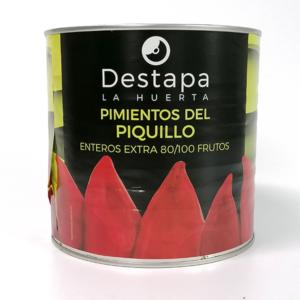 PIMIENTOS DEL PIQUELLO 80/100 FRUTOS