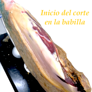 SERVICIO DE INICIO DE CORTE DE JAMÓN EN BABILLA