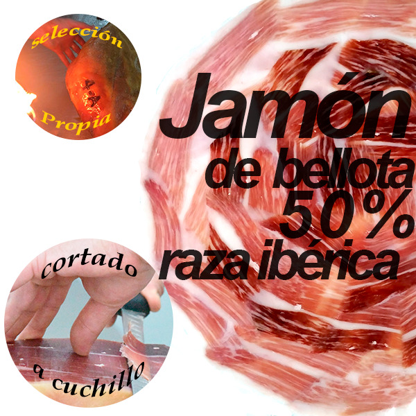 loncheado redondo jamon 50 x 100 bellota 3
