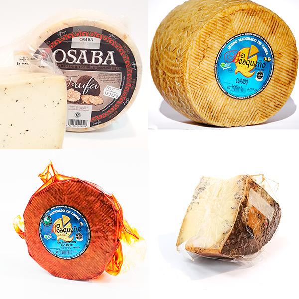 tabla de quesos sabores fuertes